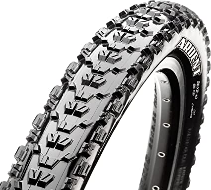 "Two Maxxis Ardent Mountain Bike Tire 27.5 x 2.25/""  Black  65 PSI"