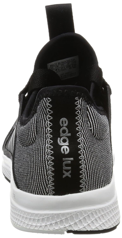 adidas Damen Edge Lux W Gymnastikschuhe, Schwarz (Negbas/Energi/Ftwbla Negbas/Energi/Ftwbla), 40/41 EU