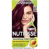462 Dark Berry Burgundy , 1 Count : Garnier Nutrisse Nourishing Color Creme, 462 Dark Berry Burgundy