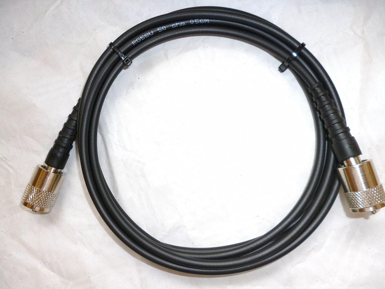 RG58Câble, 20m de long, de PL259soudées, radio CB
