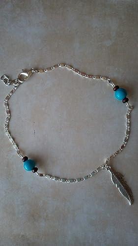 bracelet de cheville bois