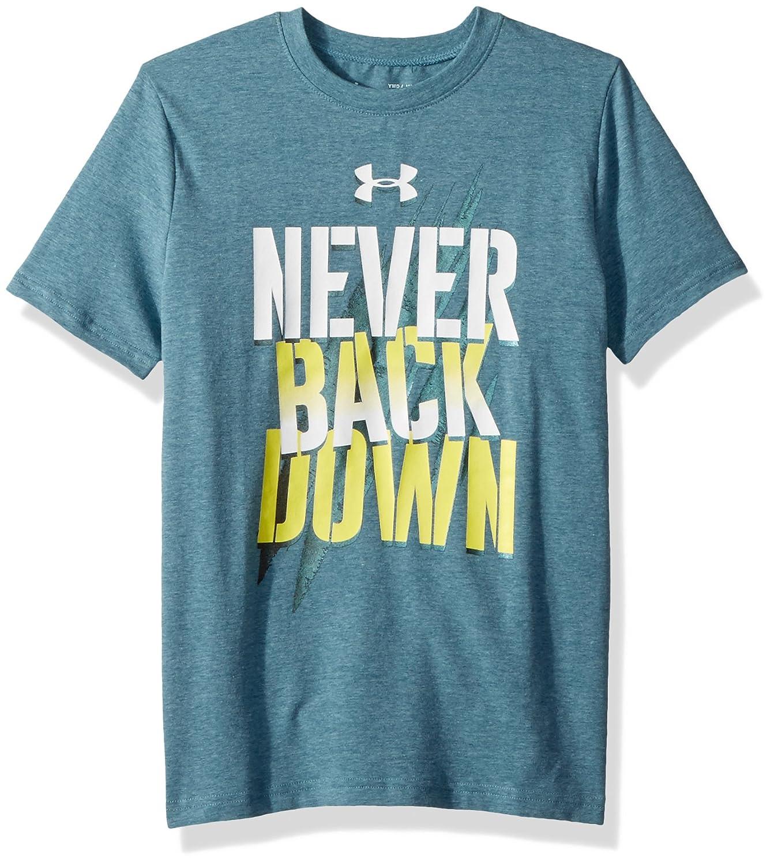 Under Armour Boys Never Back Down T-Shirt Under Armour Apparel 1305238