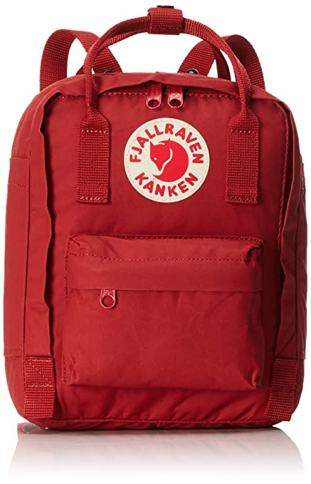 1775dbeb9 Fjallraven - Kanken Kids Backpack for School and Everyday Use, Deep Red