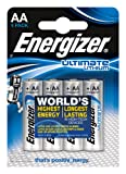 Energizer Ultimate Lithium AA Batteries x 4