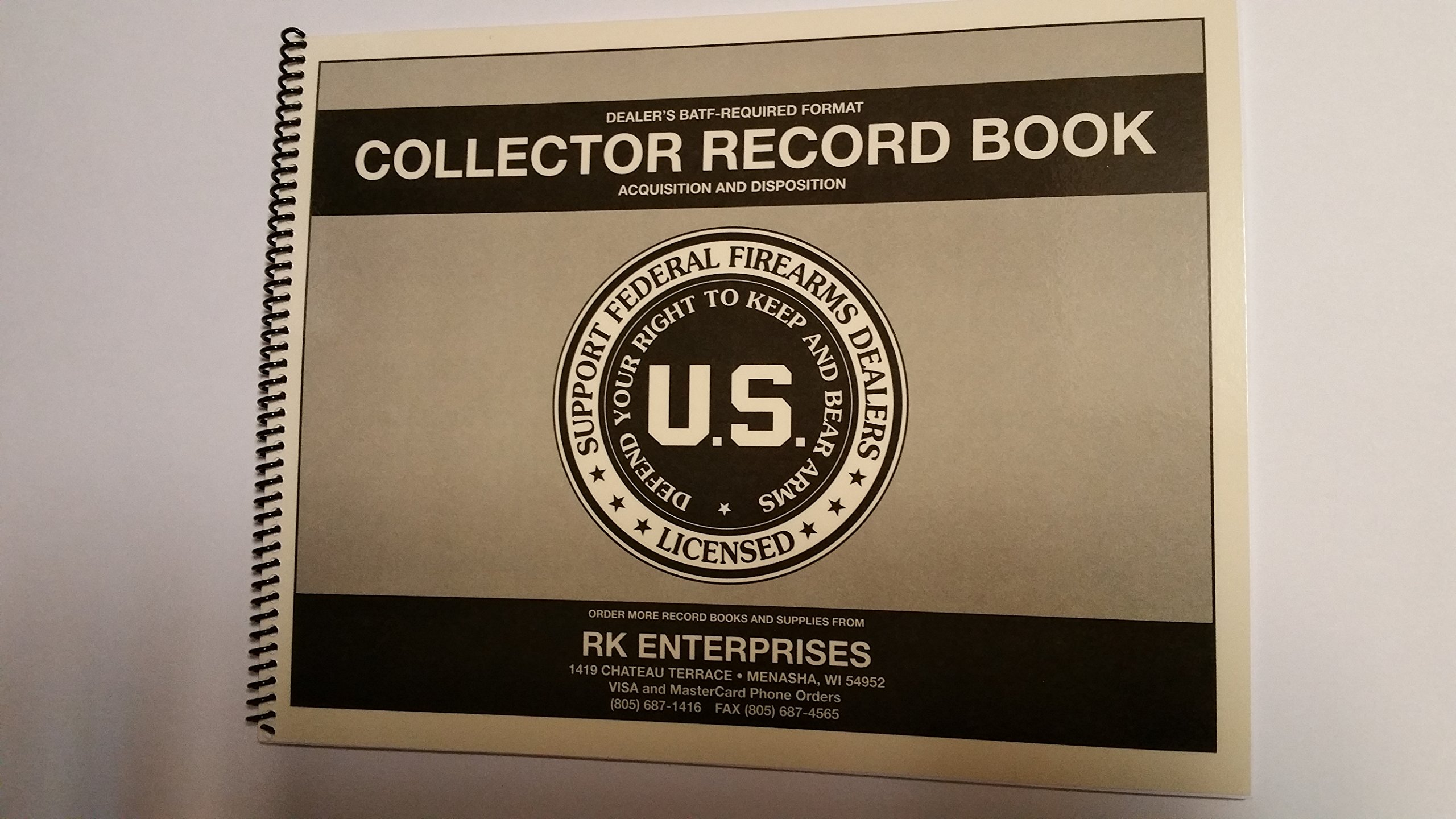 C&R Curio & Relic FFL 03 Bound Book for Collectors (300 Entry)
