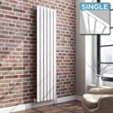 DESIGNER RADIATOR FLAT PANEL WHITE VERTICAL HEATER 1800 X 452