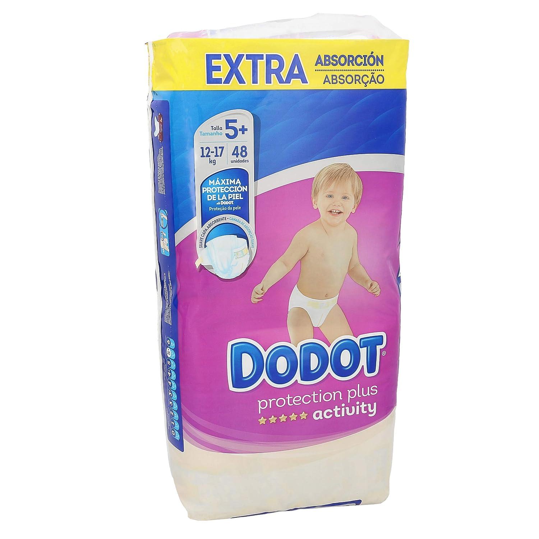 Dodot - Pañales Activity Extra t-5, 13-19 kg, 48 unidades: Amazon.es: Bebé
