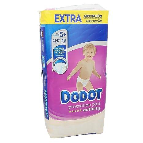 Dodot - Pañales Activity Extra t-5, 13-19 kg, 48 unidades