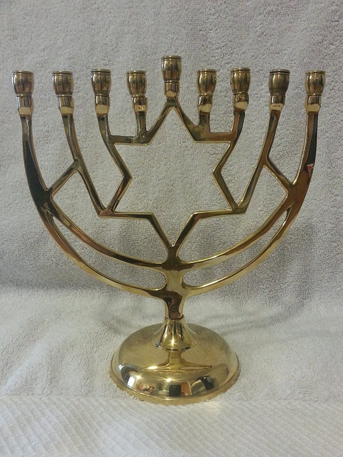 Traditional Brass Menorah IGD