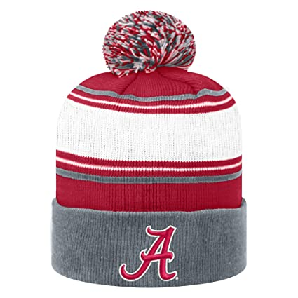 eb5e6b77badbc Top of the World NCAA Alabama Crimson Tide Men s Elite Fan Shop Winter Knit  Ambient Warm