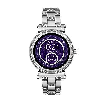 b675d8fe0c3e Michael Kors Womens Smartwatch Sofie MKT5036  Amazon.co.uk  Watches