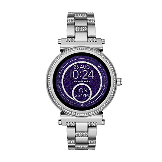 a1a1efd2b535 Michael Kors Womens Smartwatch Sofie MKT5036  Amazon.co.uk  Watches