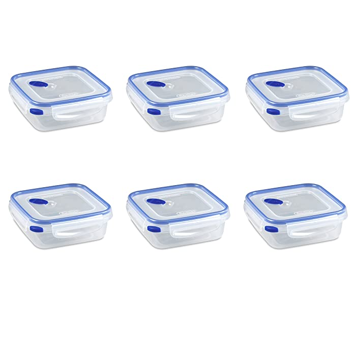 Top 9 Sterilite Plastic Food Storage Containers With Lids