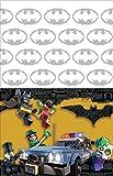"American Greetings Boy's Lego Batman Plastic Table Cover, 54"" x 96"""