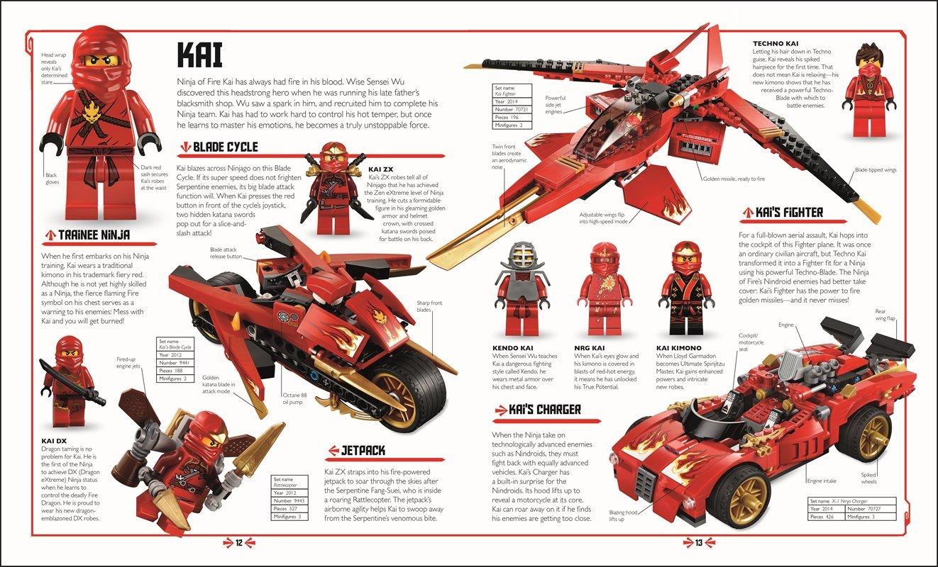 LEGO NINJAGO: The Visual Dictionary (Masters of Spinjitzu ...
