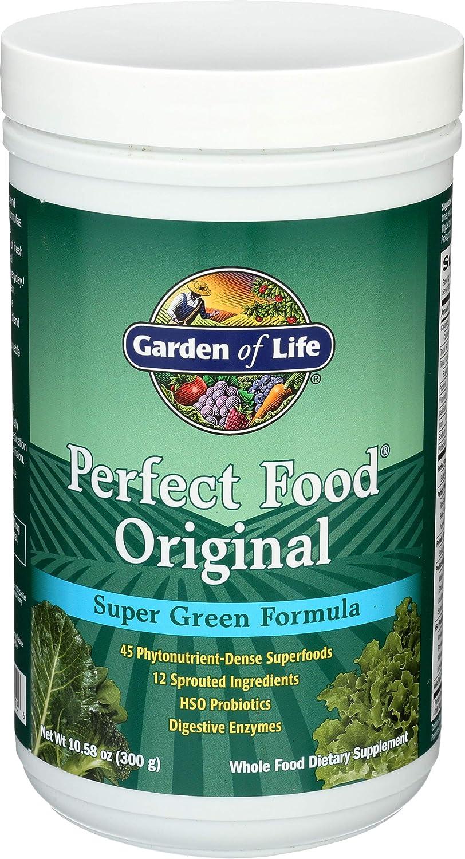 Garden Of Life, Perfect Food Powder Super Green, 10.58 Ounce