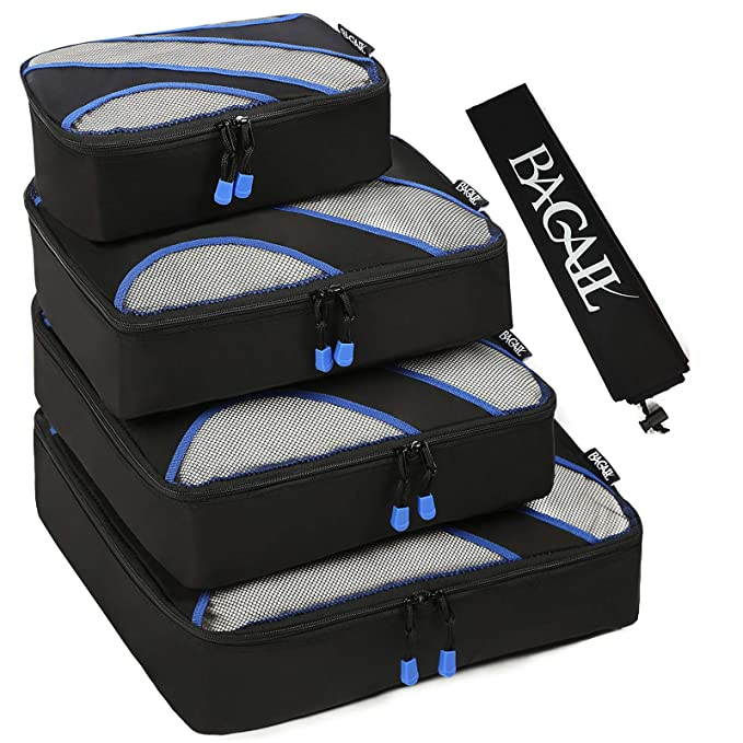 Amazon.com: Juego de 4 cubos de embalaje, equipaje ...