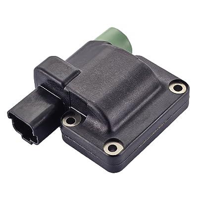 ENA Ignition Coil Compatible with Honda Accord Prelude L4 2.2L 2.3L C992 UF205: Automotive