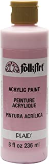 product image for FolkArt 821 Acrylic Paint in Assorted Colors (8 oz), , Baby Pink