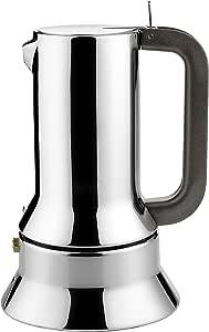 Alessi Espresso Maker 9090 by Richard Sapper, 6 Cups, Silver