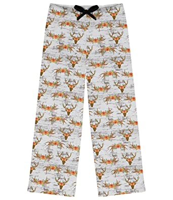 Floral Antler Womens Pajama Pants (Personalized) at Amazon Women s ... 2177c26ce