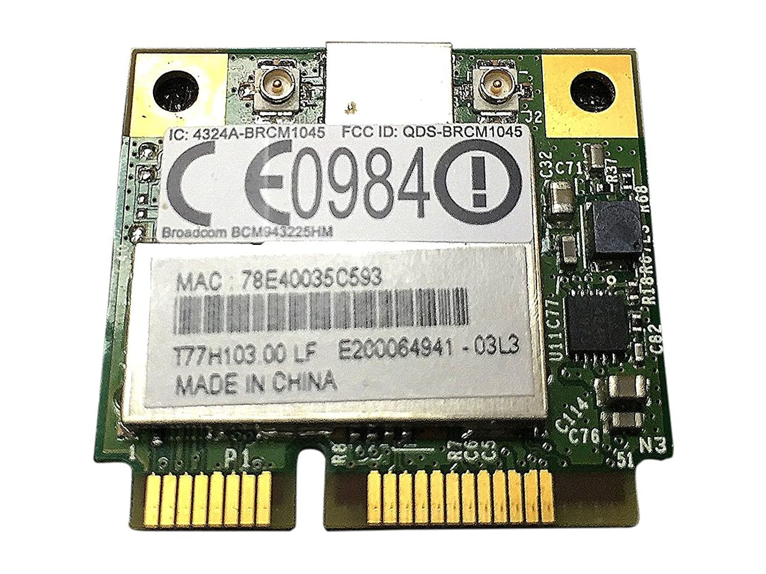 BROADCOM BCM943225HM DRIVERS FOR WINDOWS 7
