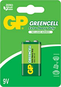 GP Greencell batterij (1 stuks, 9 V, E-blok)