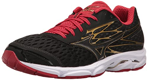 quality design 7c789 9dac3 Image Unavailable. Image not available for. Colour  Mizuno Men s Wave  Catalyst 2 Running Shoe, Black Chinese Red ...