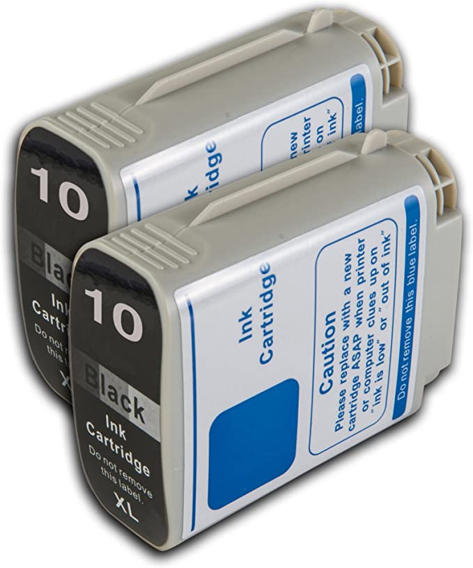 La tinta calamar 2 negro HP 10/11 No OEM Compatible cartuchos de tinta (Kit/C4836AE/C4837AE/C4838AE) para la HP Business Inkjet 1000 1100d 1100dtn 1200 1200d 1200dn 1200dtwn 1700 C 1700 CP 2200 2230