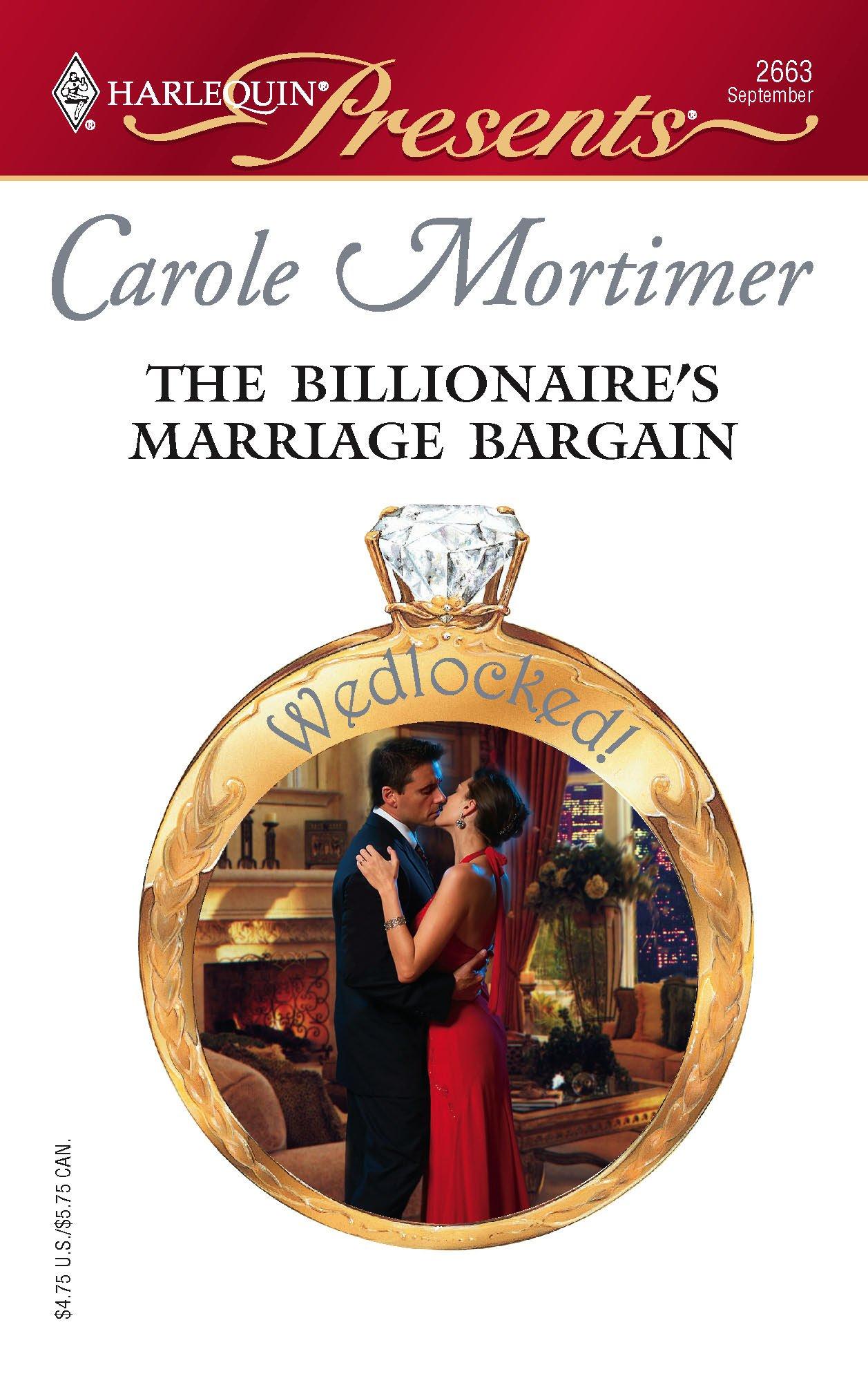 Download The Billionaire's Marriage Bargain ebook
