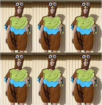 Unbekannt 6 X Eule Kostum Faschingskostum Gruppe Fastnacht Karneval