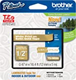 """Brother PTouch 1/2"""" Laminated TZe Tape Model TZE-MQ835"""