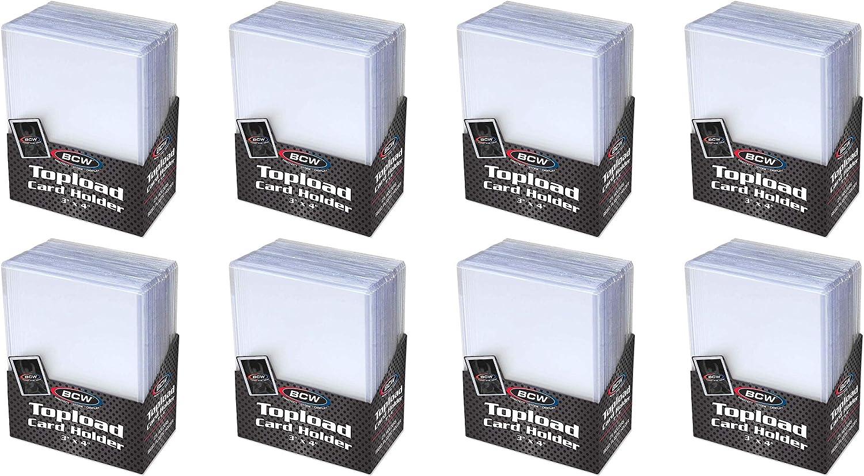 BCW 3x4 Premium Topload Card Holder 50 ct