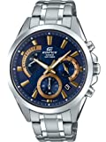 Casio Edifice Men's Blue Dial Stainless Steel Chronograph Watch - EFV-580D-2AV