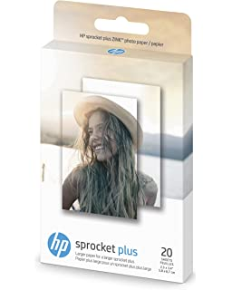 Amazon.com: HP Sprocket 2-in-1 Portable Photo Printer ...