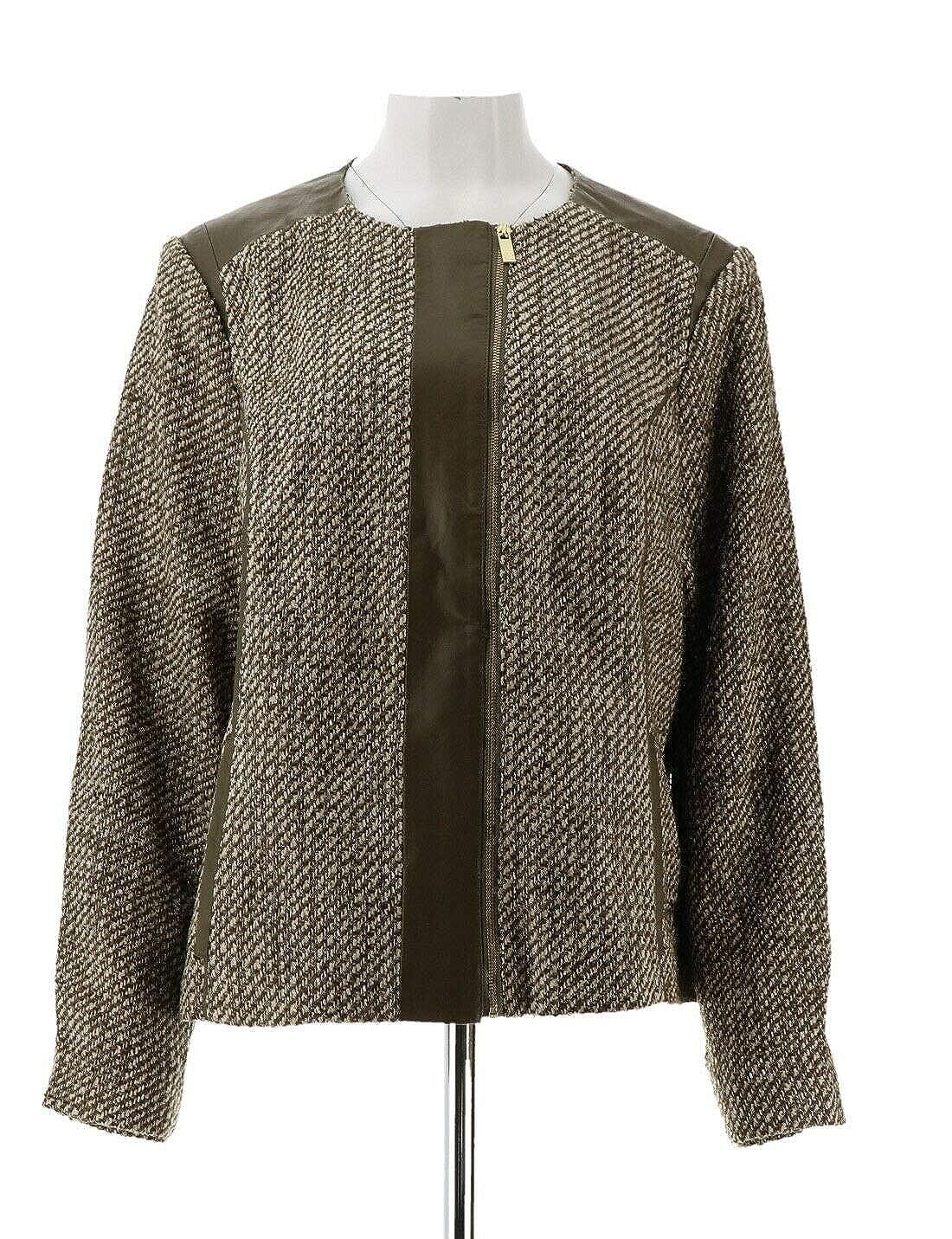 Liz Claiborne NY Heritage Collection Tweed Jacket A272811