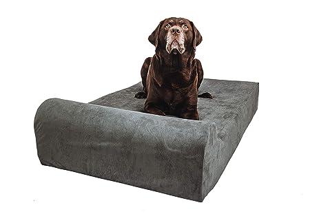 Clever Paws Cama ortopédica para Perros Deluxe - Cama de Espuma viscoelástica Impermeable para Perros Grandes