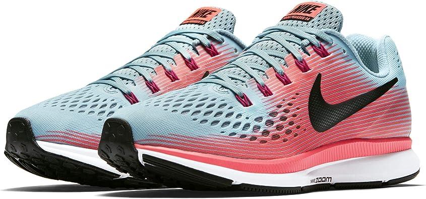 Nike Air Zoom Pegasus 34 Zapatillas para correr para mujer, Rosa, 11