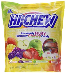 Hi-Chew, Sensationally Chewy Fruit Candy in Assorted Flavors, 14.1 oz