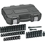 "GearWrench 84916N SAE/Metric 3/8"" Drive Impact Socket Set (44 Piece)"