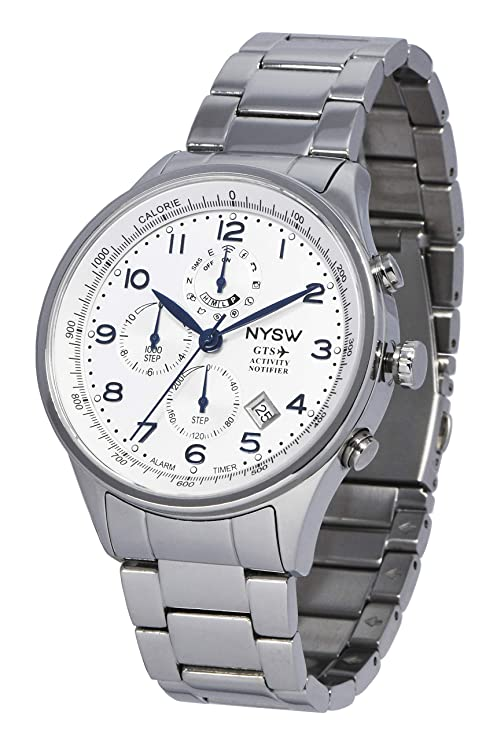 Amazon.com: NYSW reloj inteligente de estilo de vida con ...