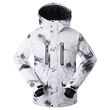 2aea562461 Image Unavailable. Image not available for. Color  GSOU Snow Men s Ski  Jacket Snowboarding Windproof Waterproof ...