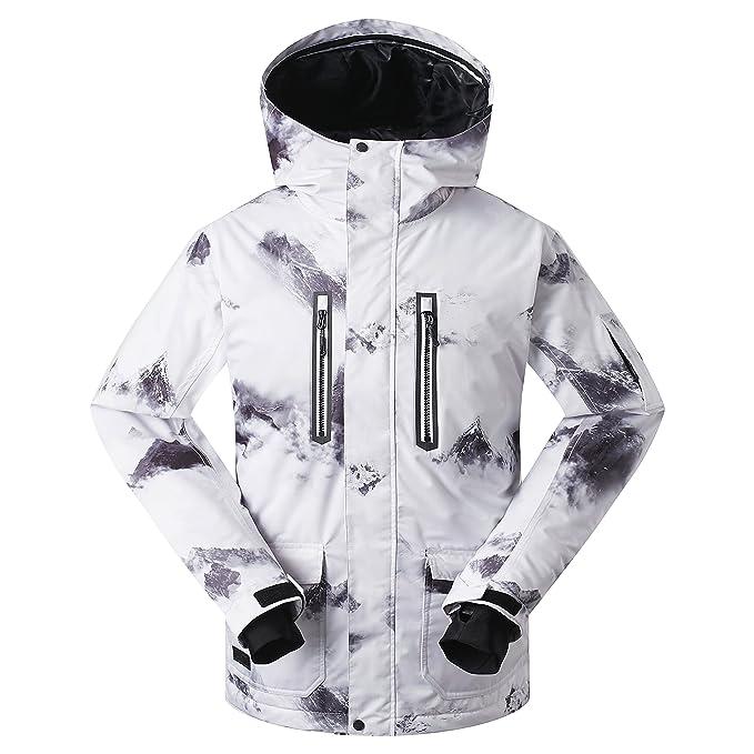 c525991cd Amazon.com: Men's Ski Jacket Snowboarding Windproof Waterproof for ...