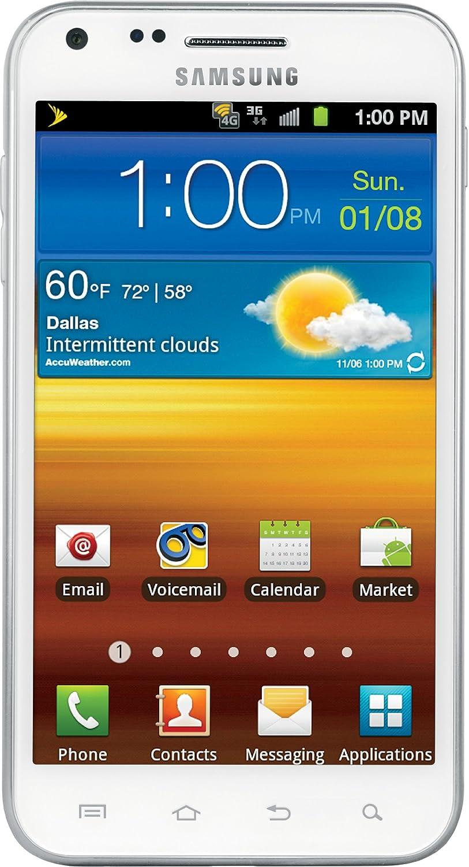 amazon com samsung galaxy s ii 4g android phone white sprint rh amazon com Straight Talk Samsung Galaxy S4 Samsung Galaxy S3 User Guide