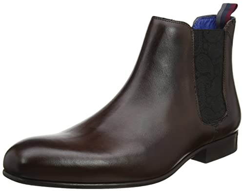 Ted Baker Mens Brown Leather Kayto Boots-UK 6