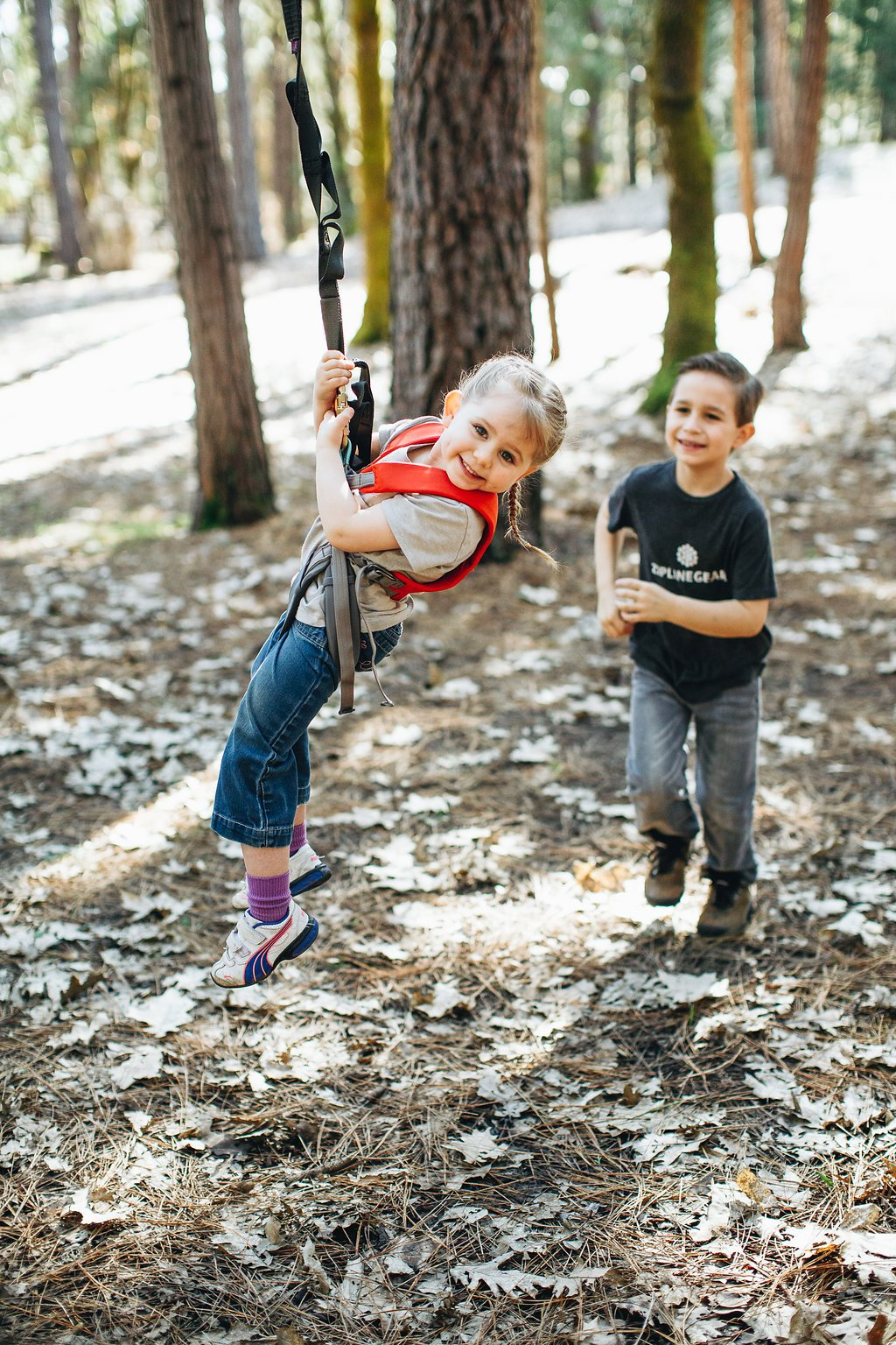 200' CHETCO Zip LINE KIT + Child Harness KIT by Zip Line Gear (Image #4)