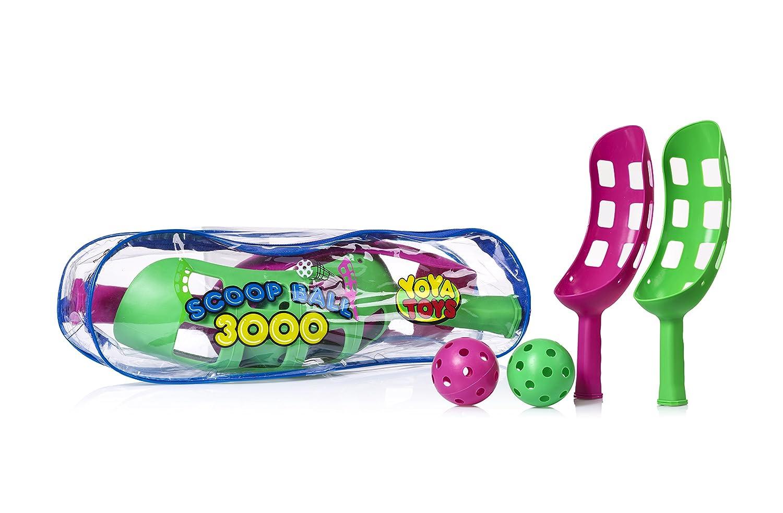YoYa Toys Juego de Bolas de Juguete para Exteriores y Lanzador de ...