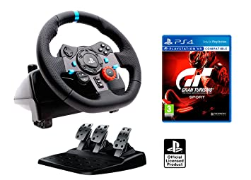 bd8f1861e53 Volant PS4 Originale sous Licence Playstation 4 Logitech G29 Driving Force  Force Feedback + Gran Turismo