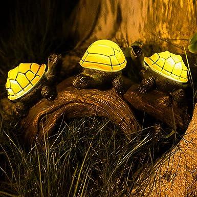 Solar Garden Turtle Lights