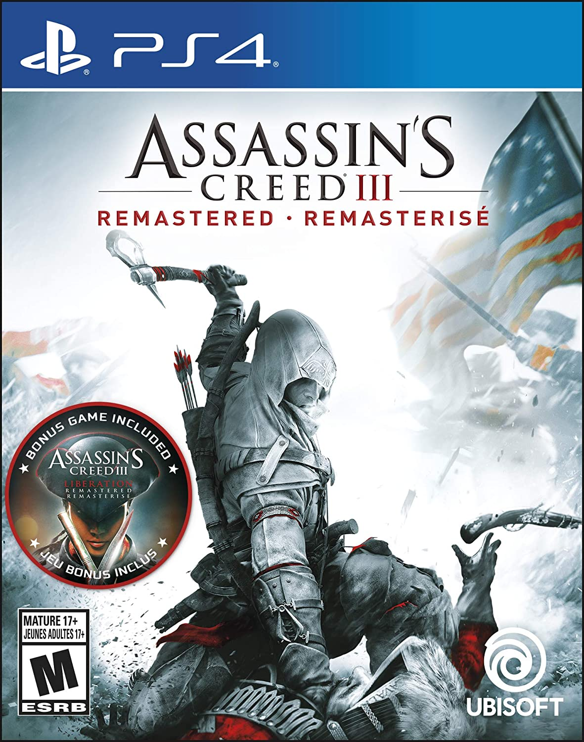 Assassin's Creed III Remastered - PS4    Ubisoft Montréal
